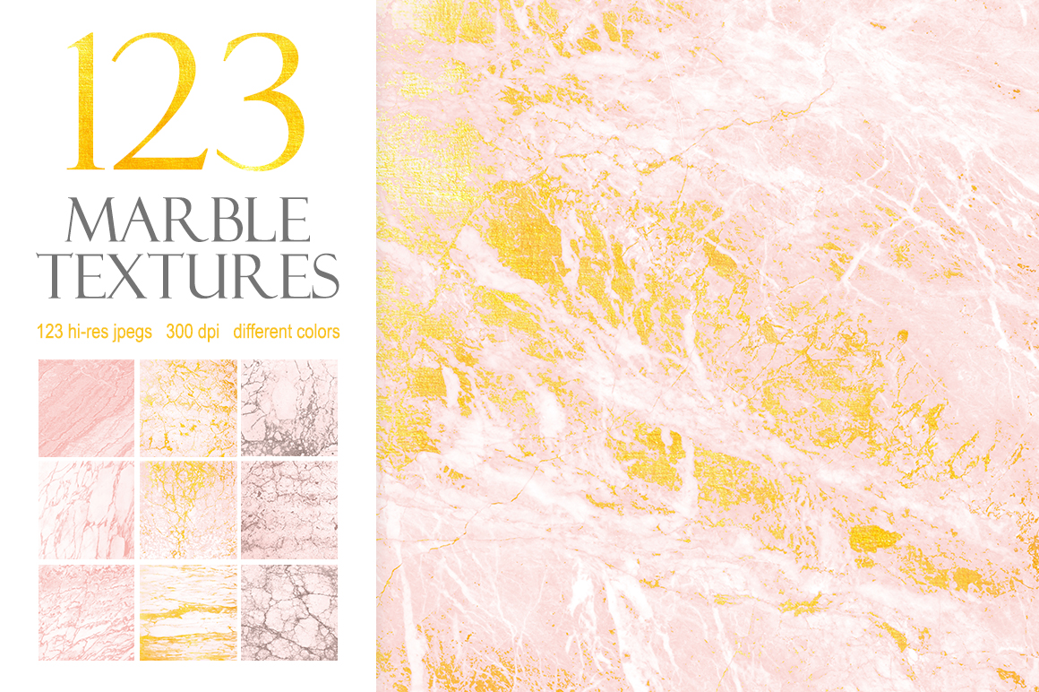 369 Marble Textures example image 2