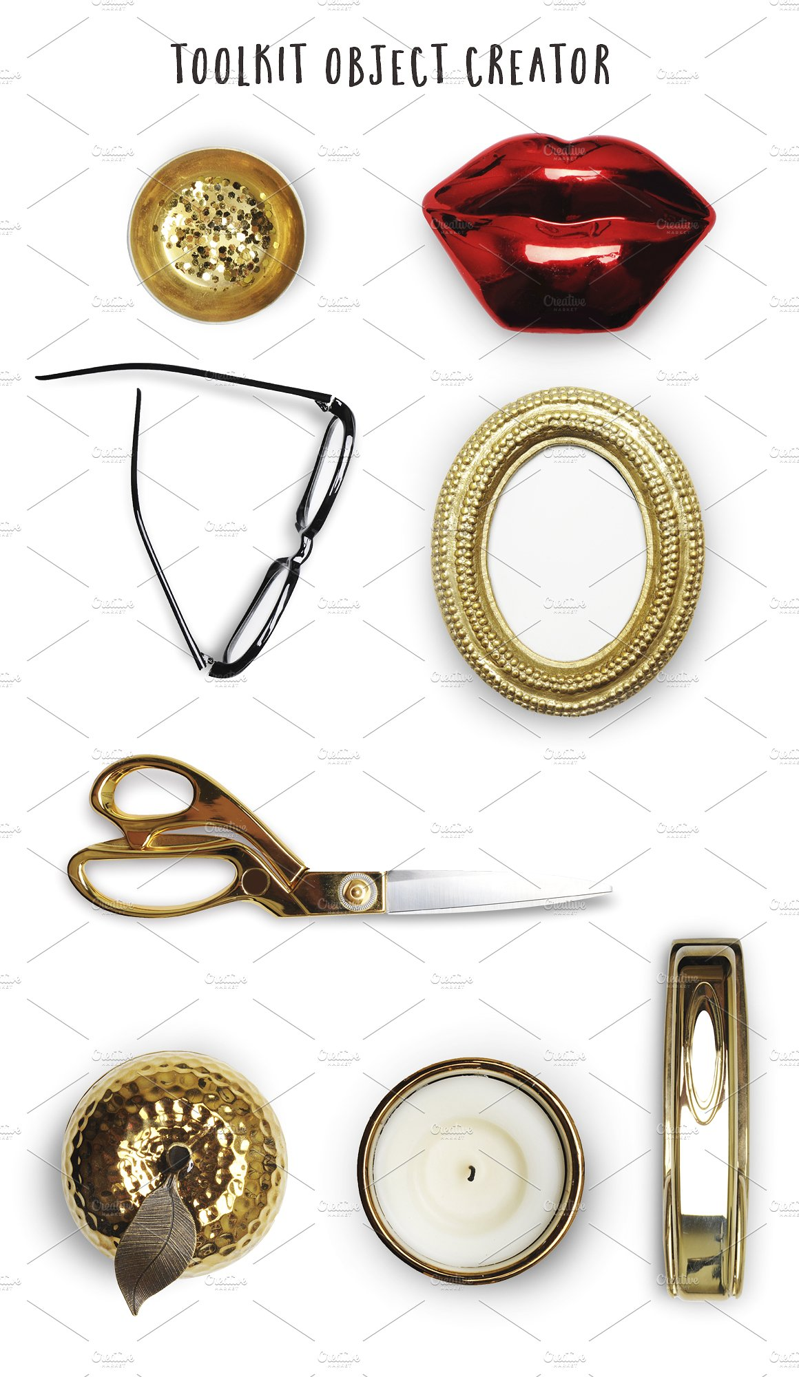 Toolkit Business Lady Mockups example image 2