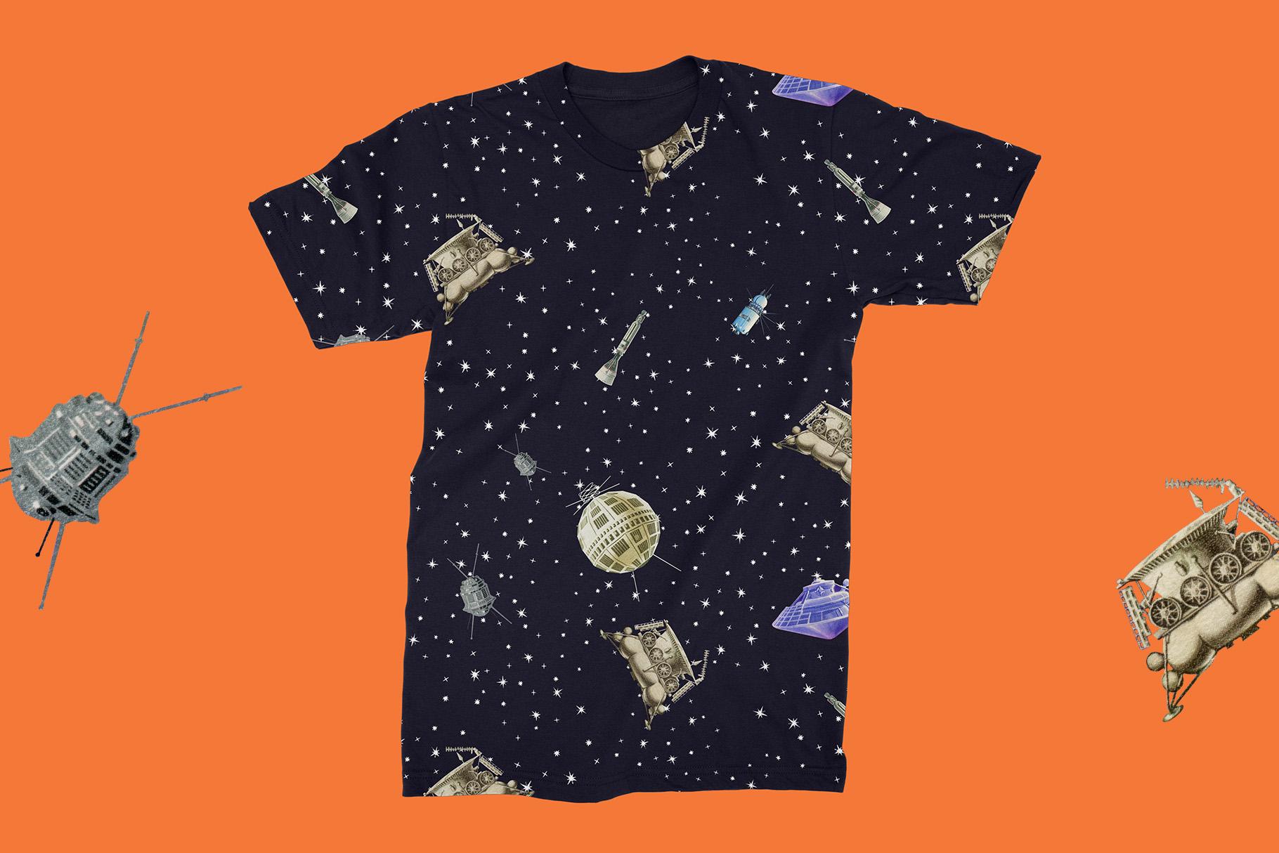 Gagarin - Patterns & Illustrations example image 3