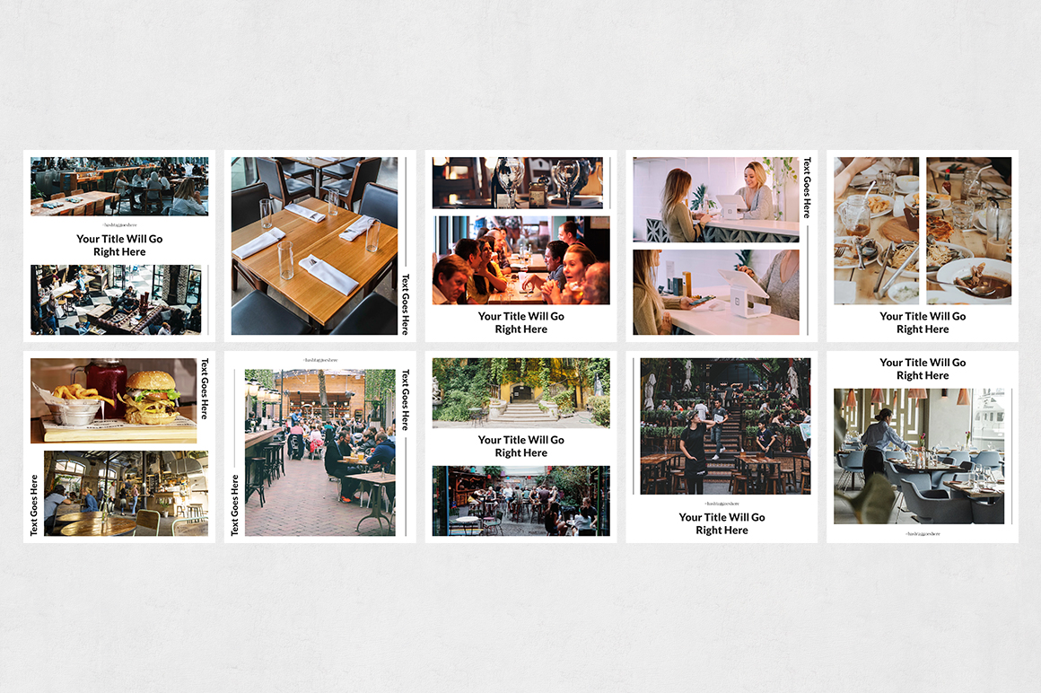 Restaurant Instagram Posts example image 8