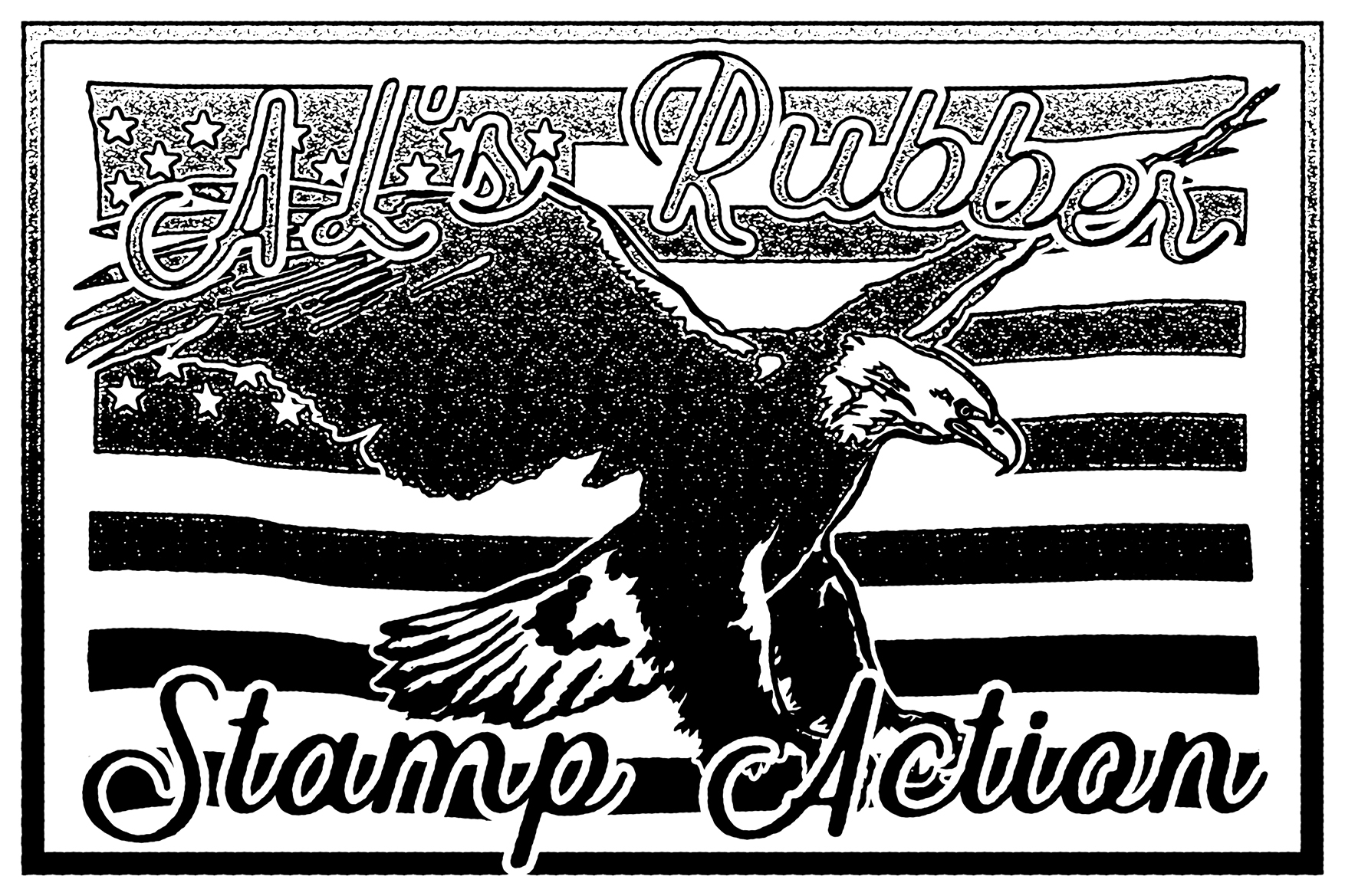 AL's Rubber Stamp Action Kit example image 2