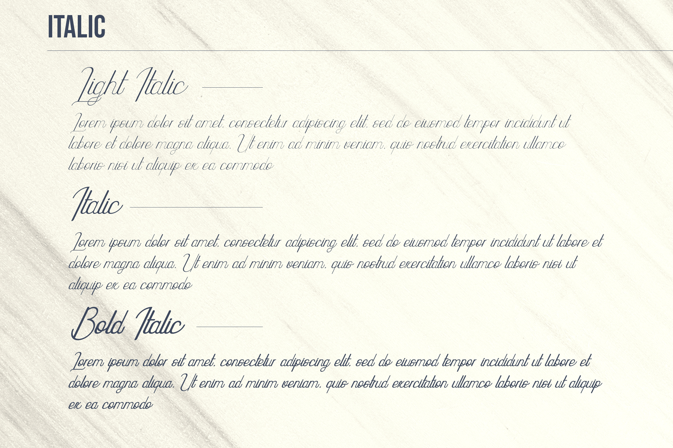 Highway - Vintage script font family with Extras example image 12