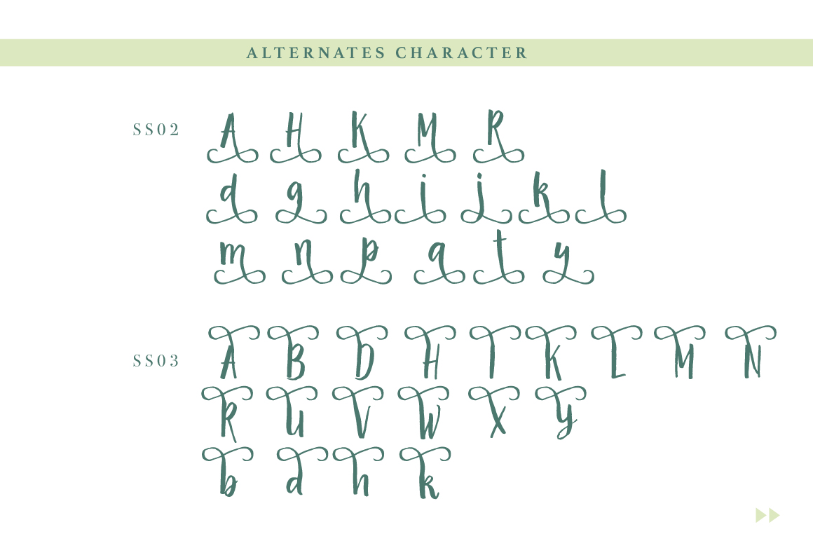 The Magicland Typeface example image 4
