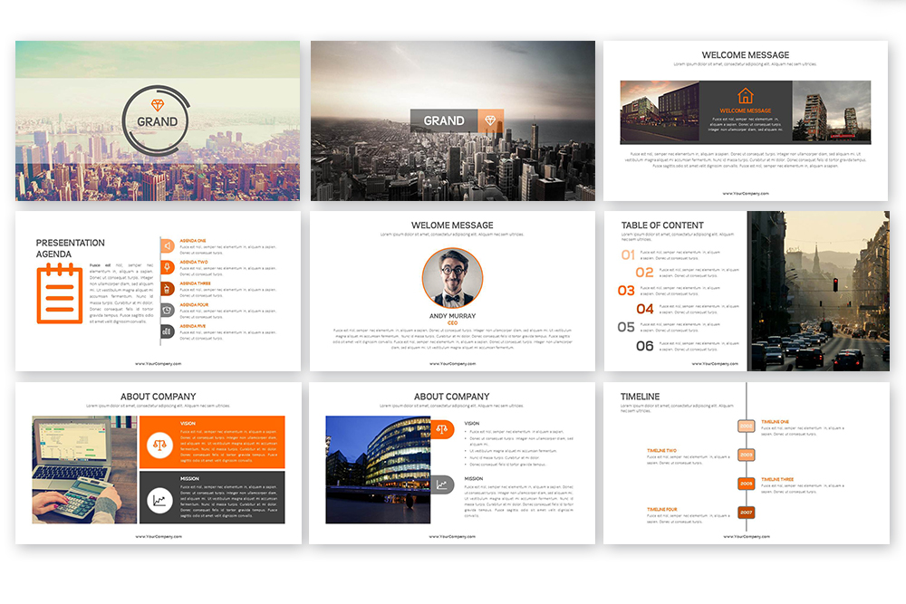 Grand PowerPoint Template example image 3