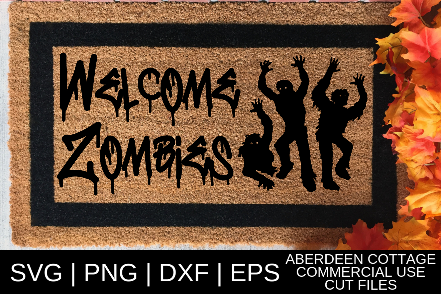 Welcome Zombies 2 SVG example image 1
