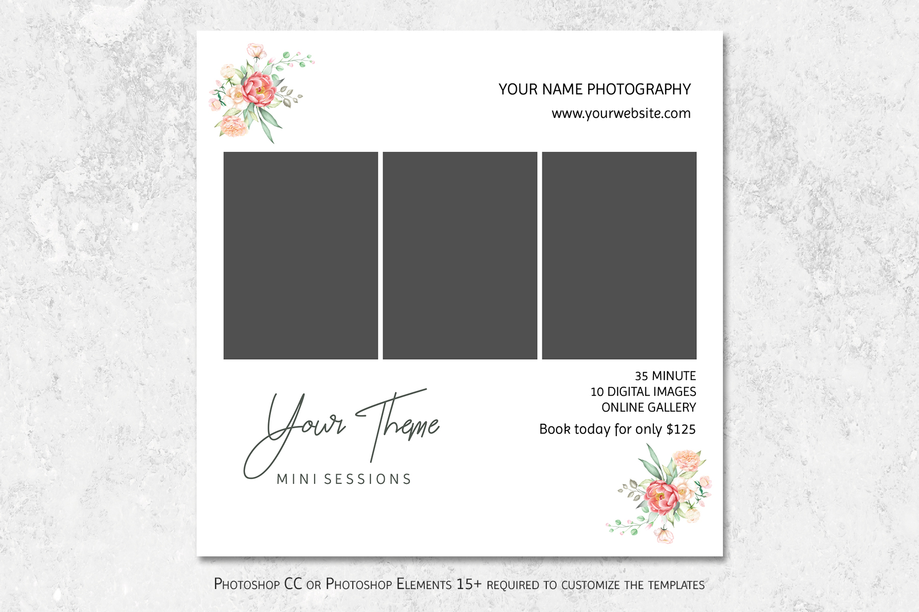 Mini Sessions Marketing Templates example image 2