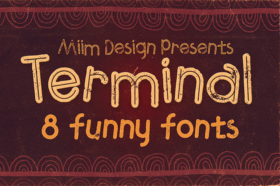 Terminal - Funny Font example image 1