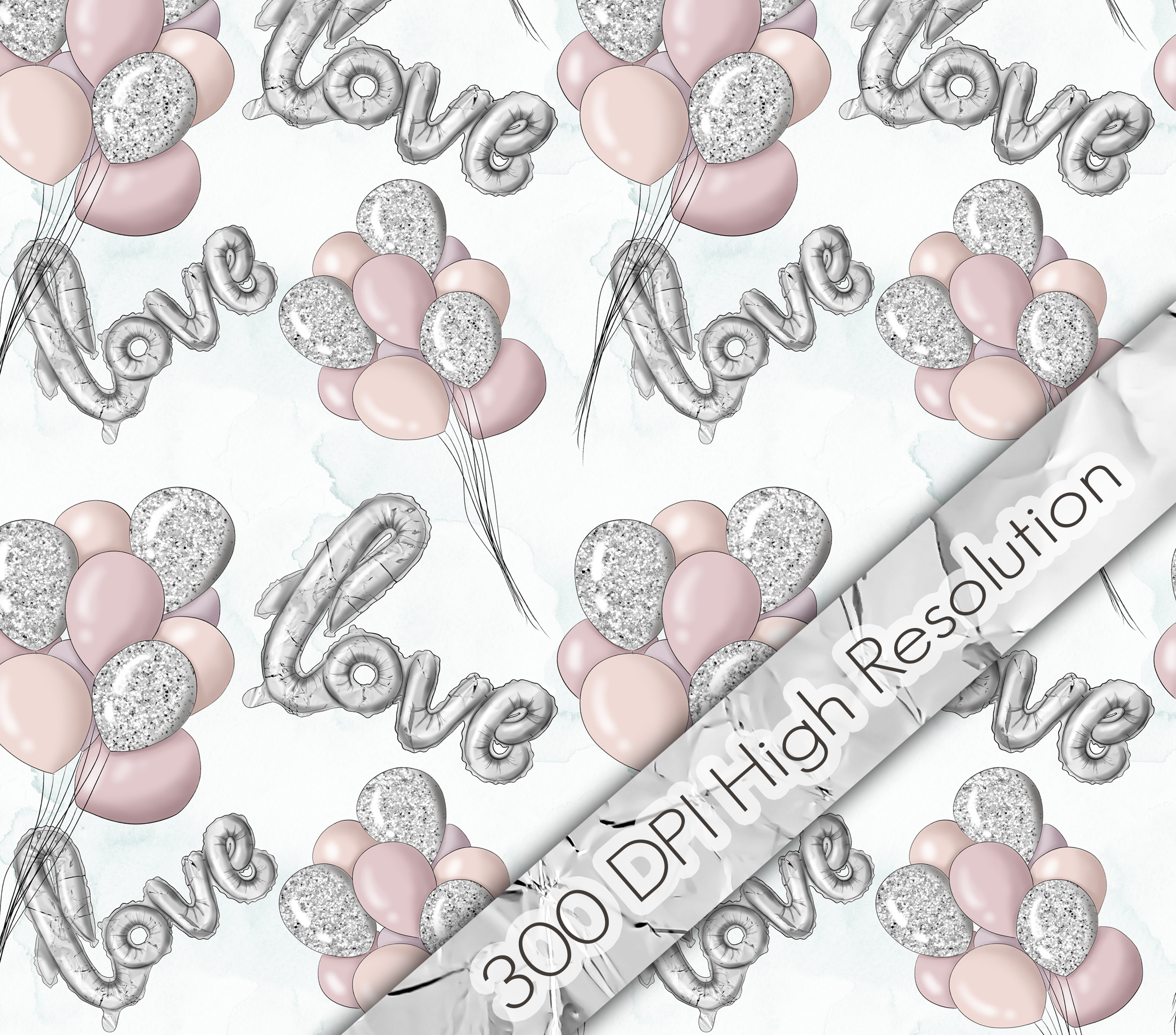 All You Need Is Love Graphic Design KIt example image 4