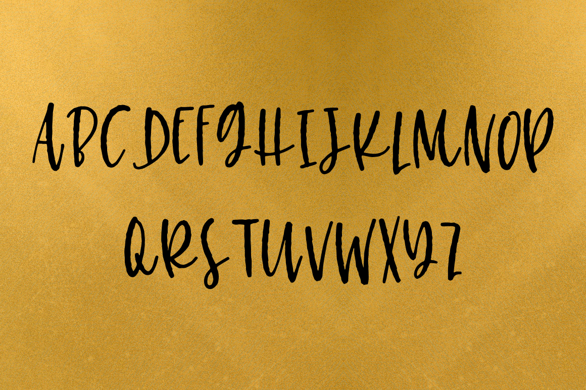 Nickely - A Textured Script example image 4