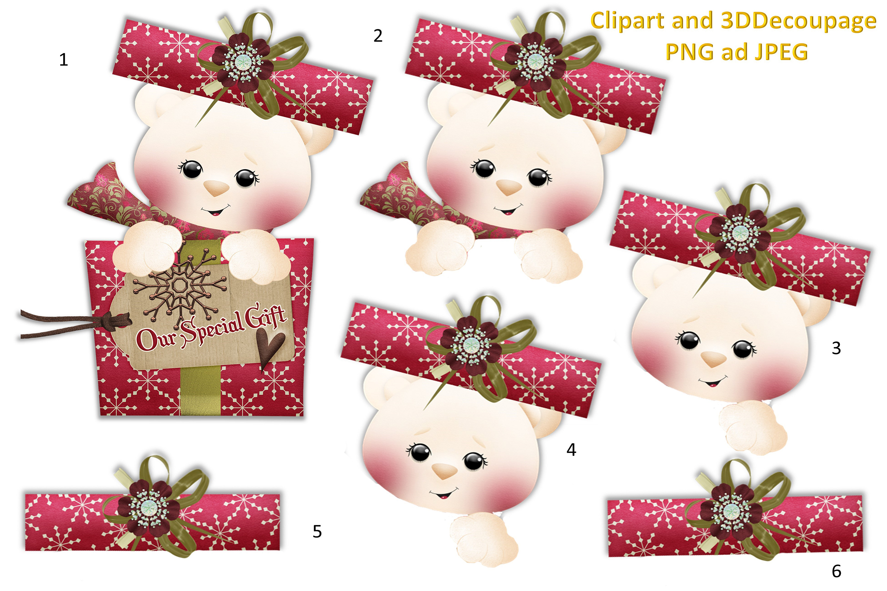 Christmas Crafts Bundle JPEG and PNG Commercial Use example image 4