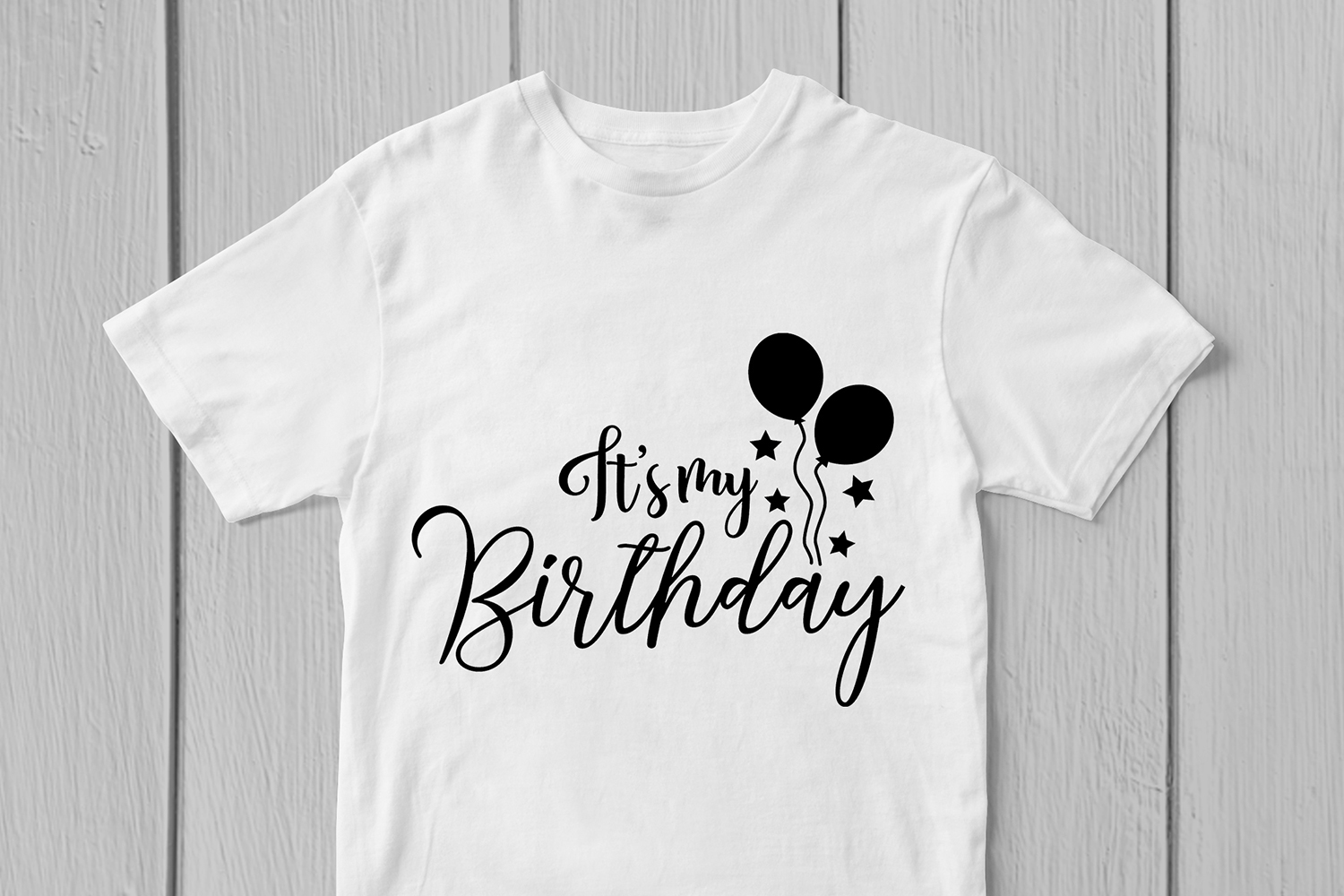 Its My Birthday - Birthday SVG EPS DXF PNG Cutting Files example image 2