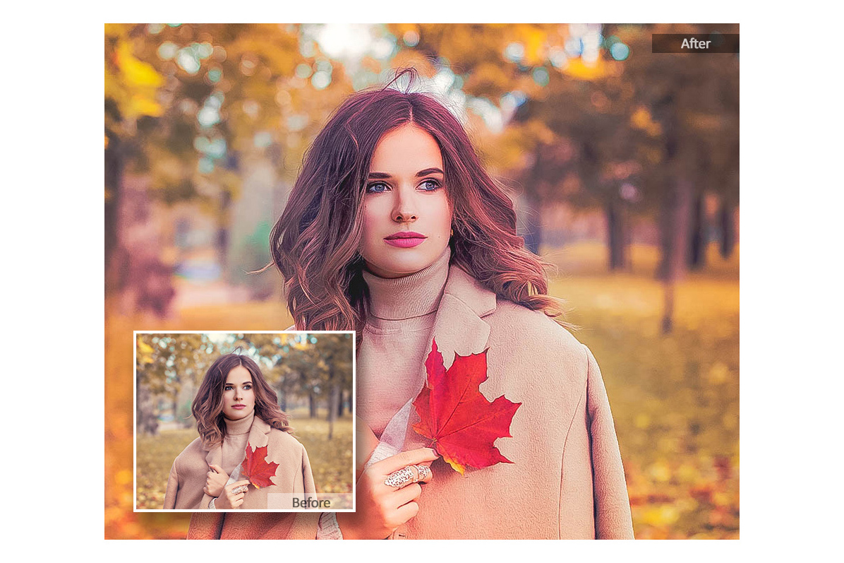 Autumn Lightroom Mobile Presets Adroid and Iphone/Ipad example image 3