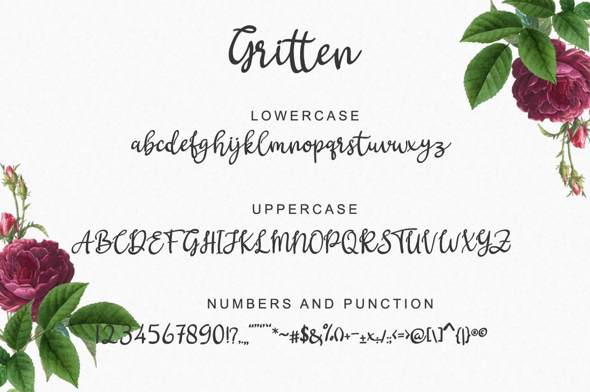 Gritten - Script example image 5