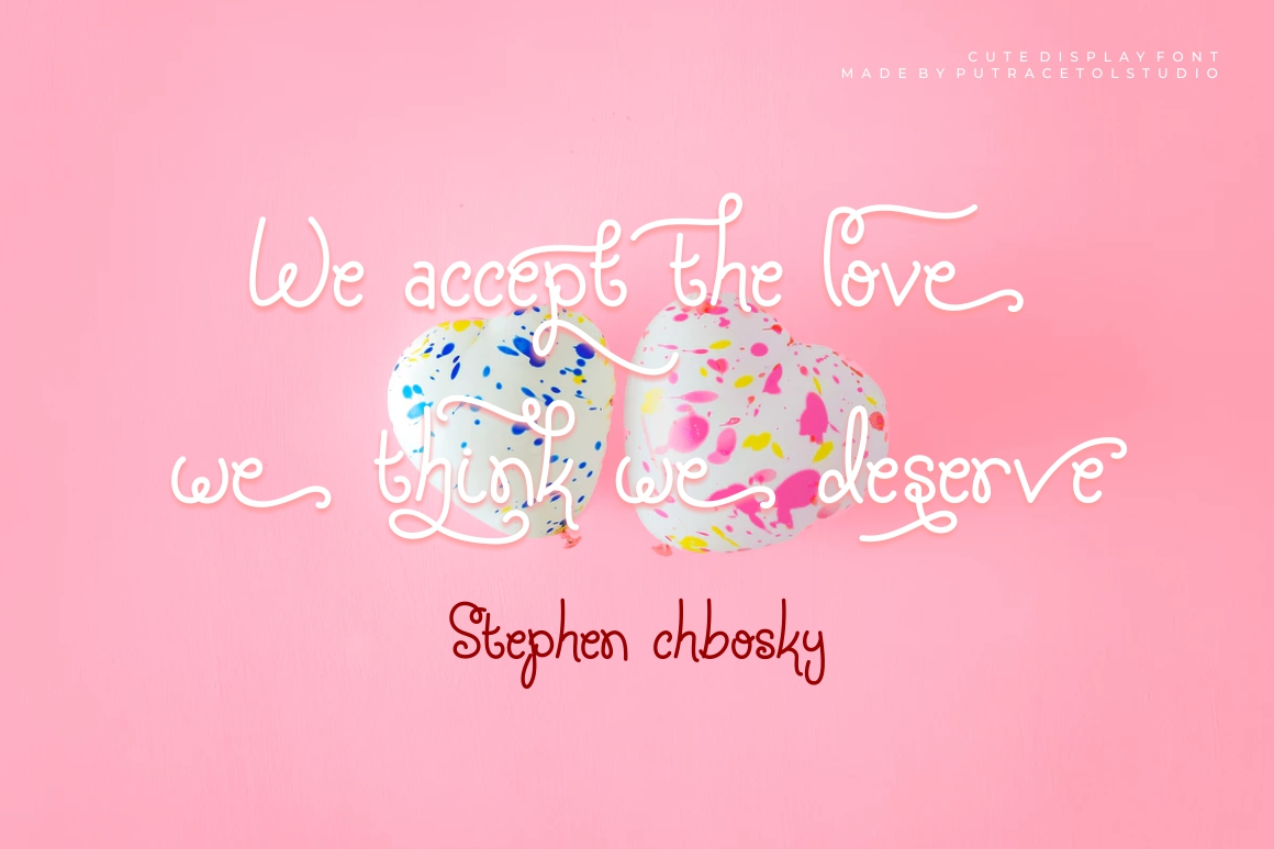 Silky Candy - Cute Sweet Font example image 9