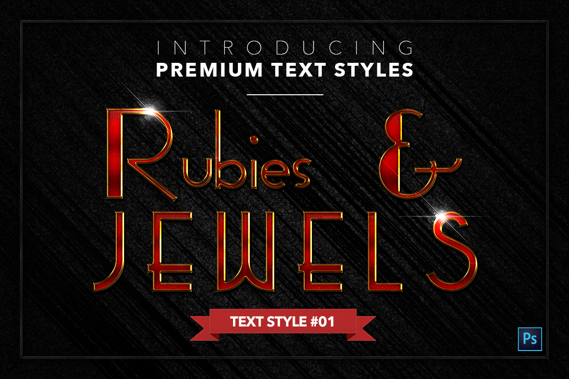 Rubies & Jewels #1 - 20 Text Styles example image 2