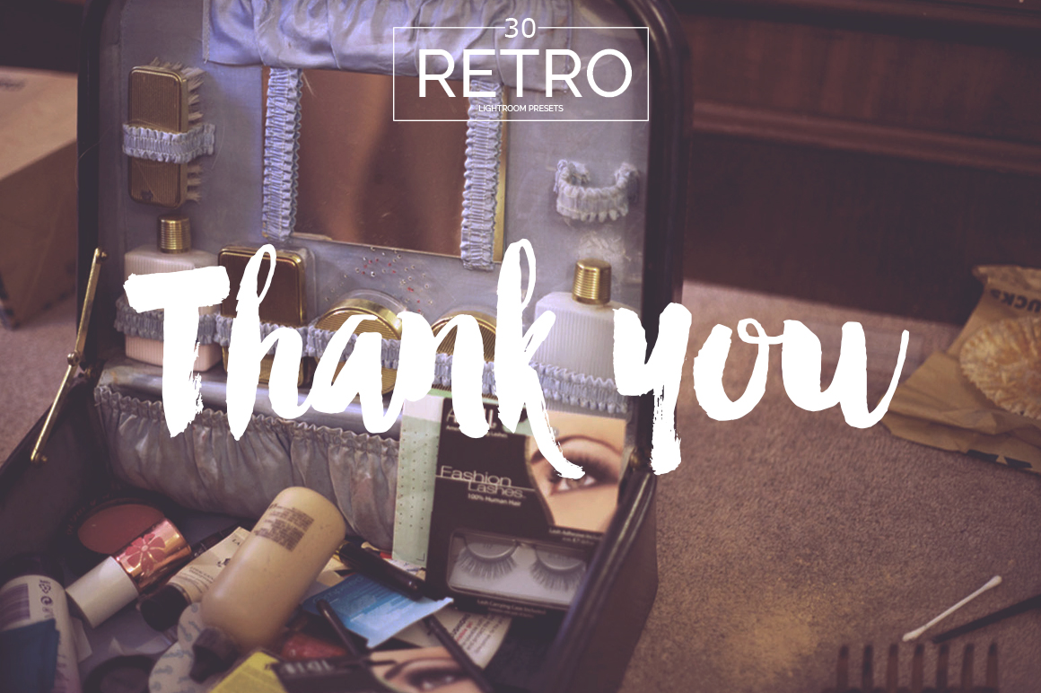 Retro Lightroom Presets example image 7