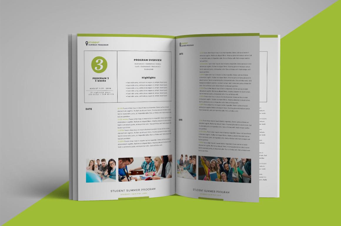 School program brochure example image 6