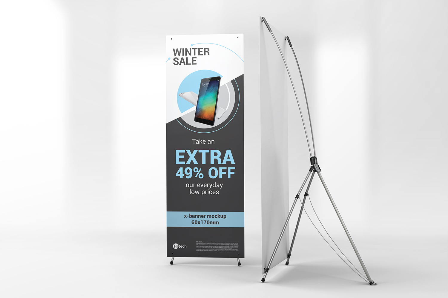 X-Stand Banner Mockups example image 7