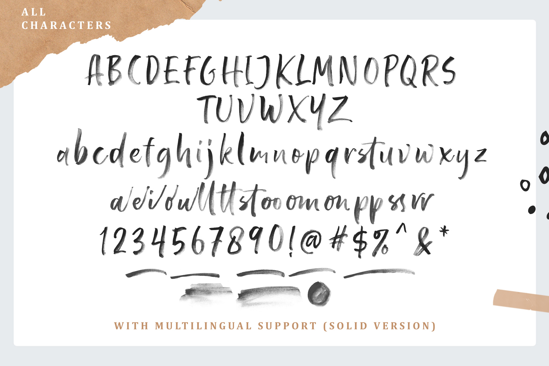 Pastelle SVG font example image 9
