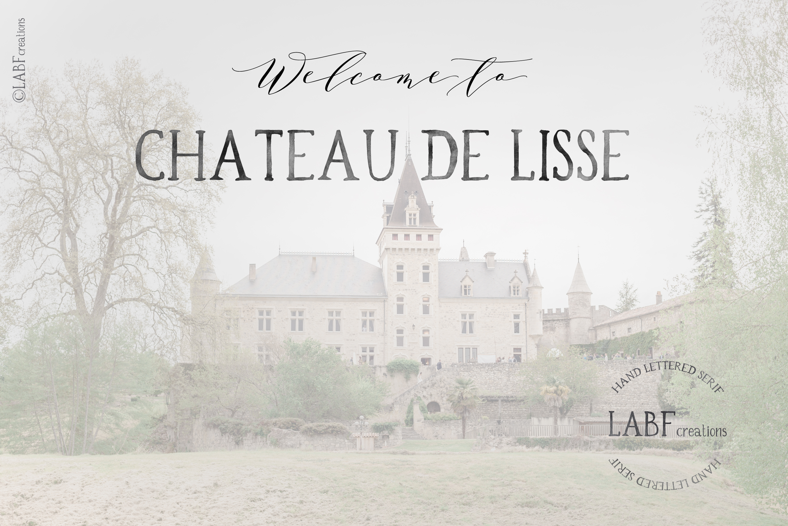 Rochemont. Classic and rustic Hand lettered serif font example image 4