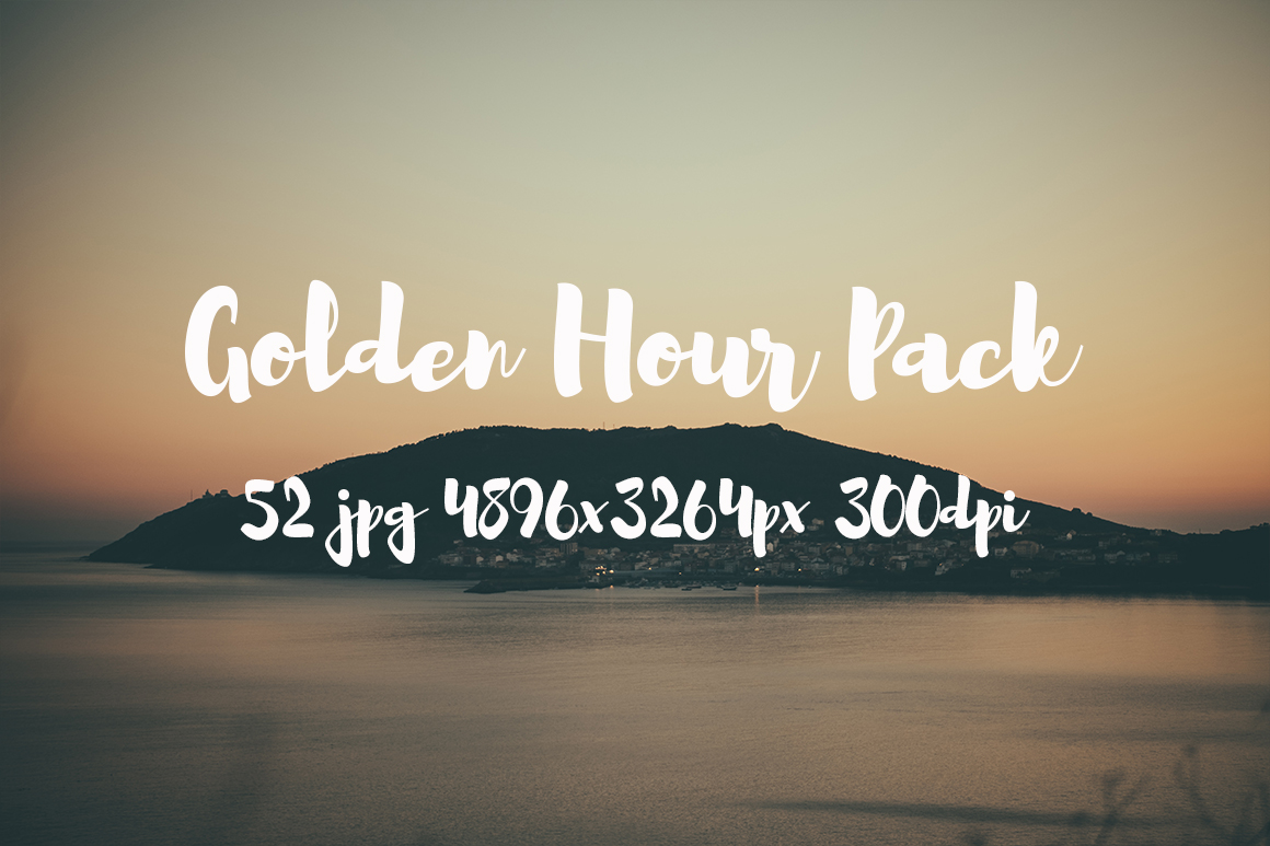 Golden hour Pack example image 17