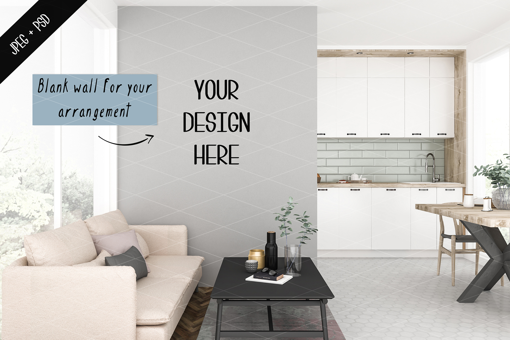 Frame mockup creator - All image size - Interior mockup example image 4