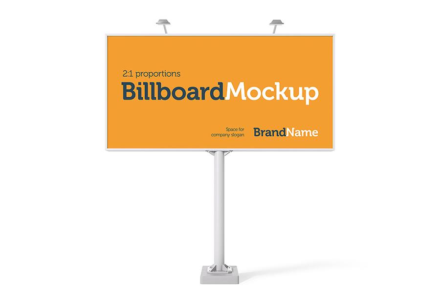Billboard Mock-Ups. Day & night view example image 2