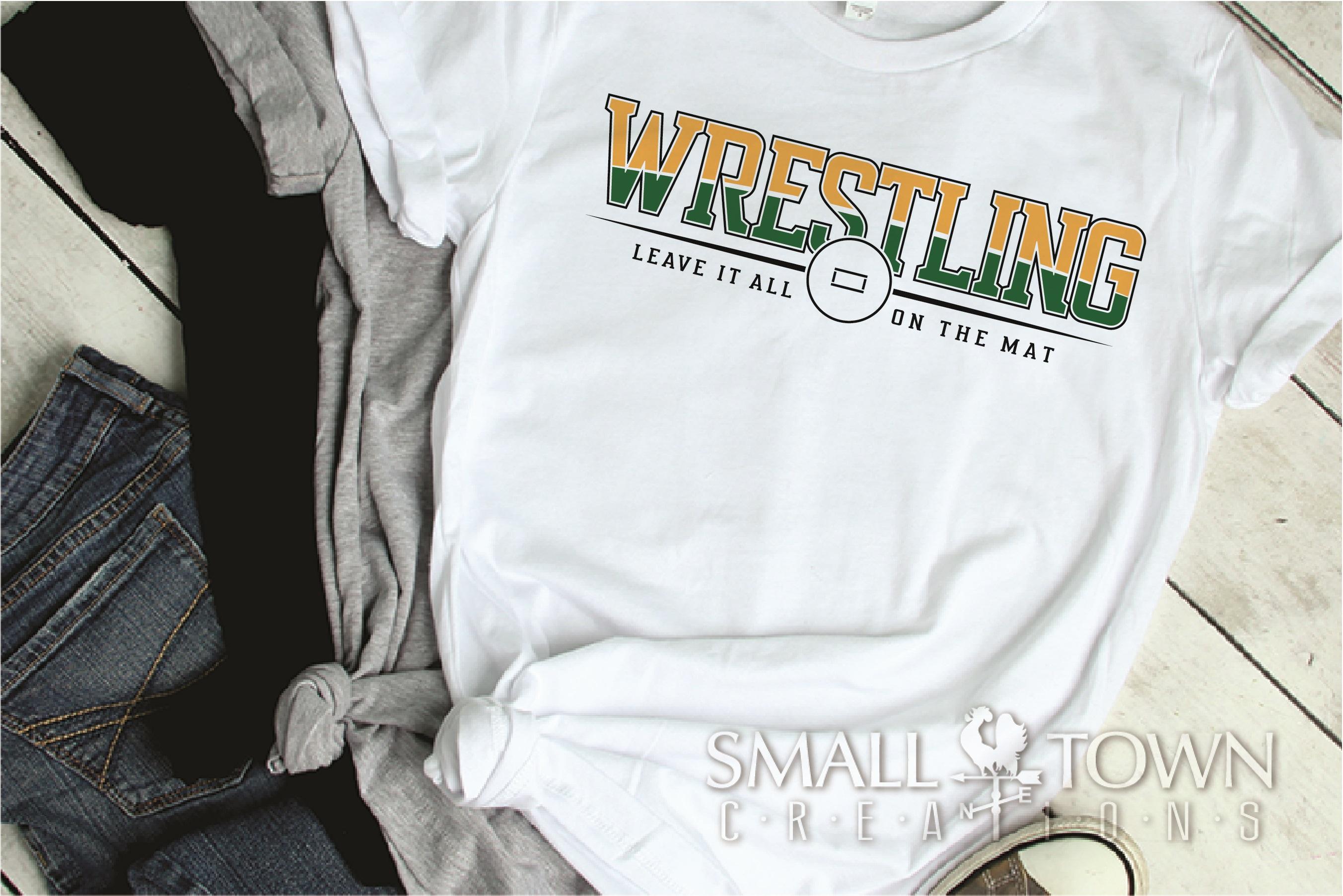 Wrestling, Headgear, Team, Sports, Logo, PRINT, CUT & DESIGN example image 2