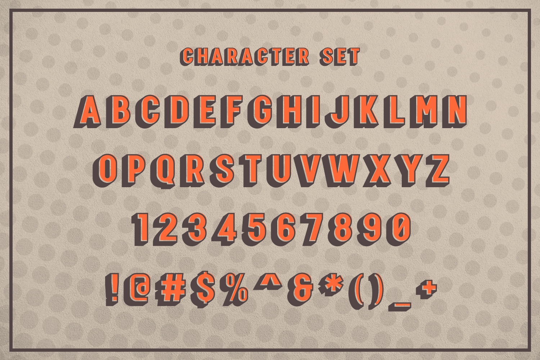 Raising - SVG Font example image 5