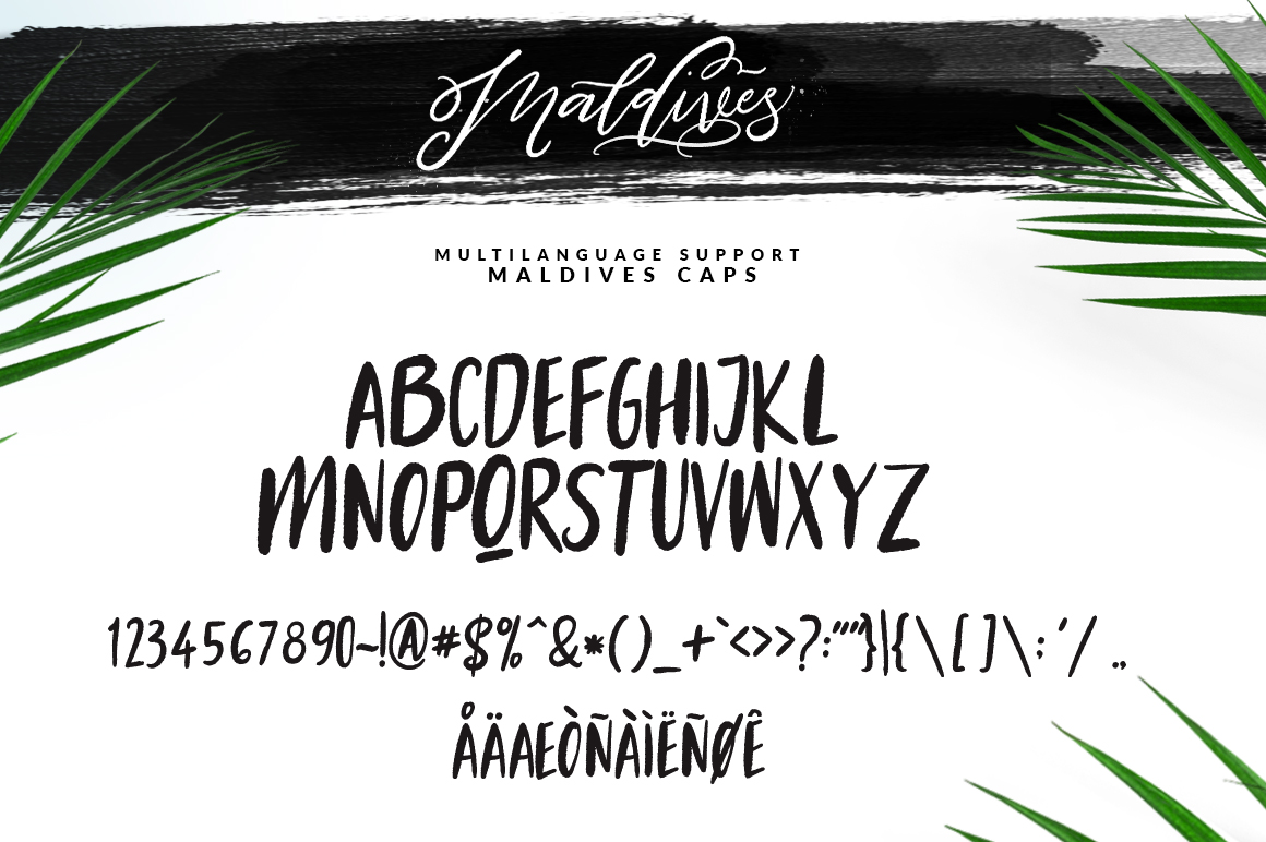 Maldives Script example image 2