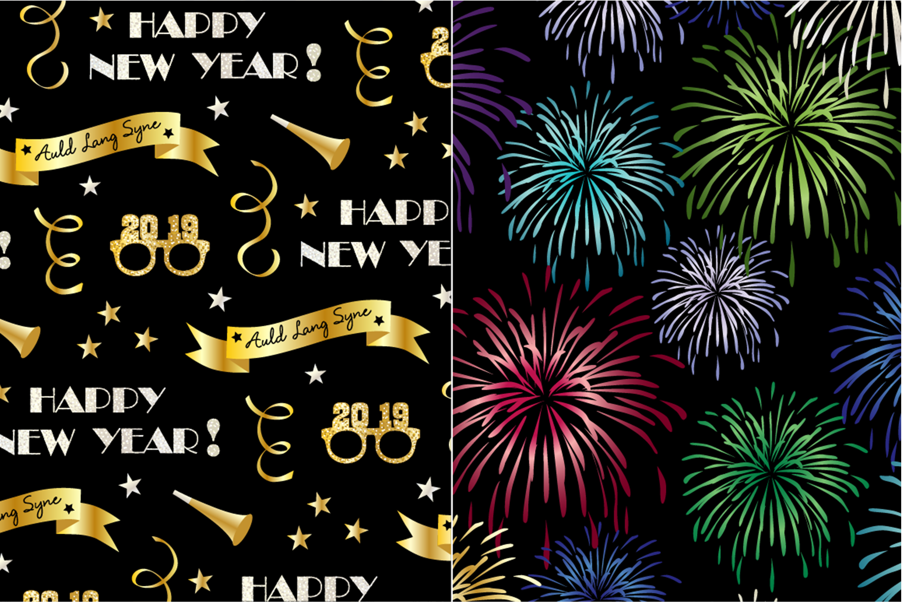 New Year's Eve Patterns example image 5