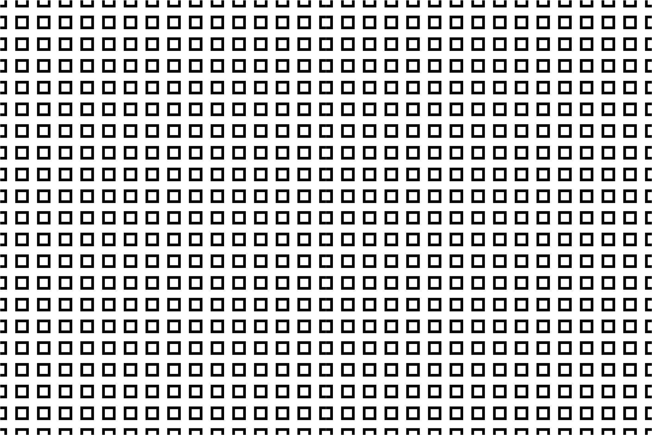 Seamless geometric patterns. B&W. example image 11