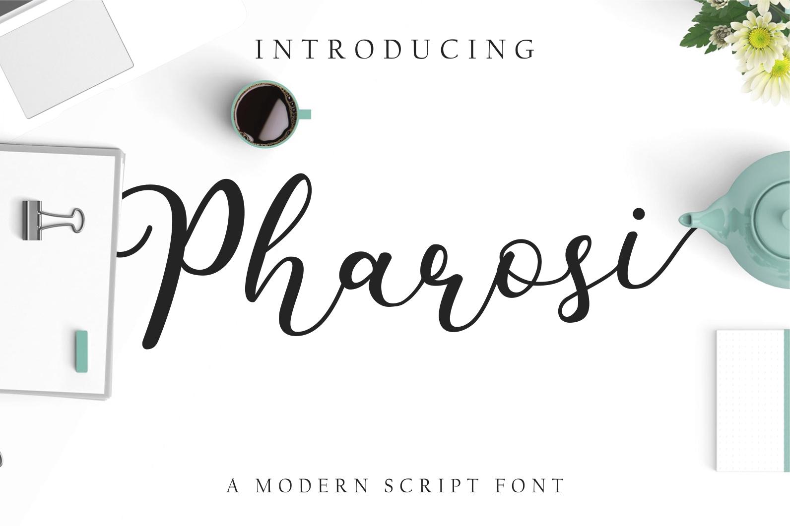 Pharosi Font example image 1