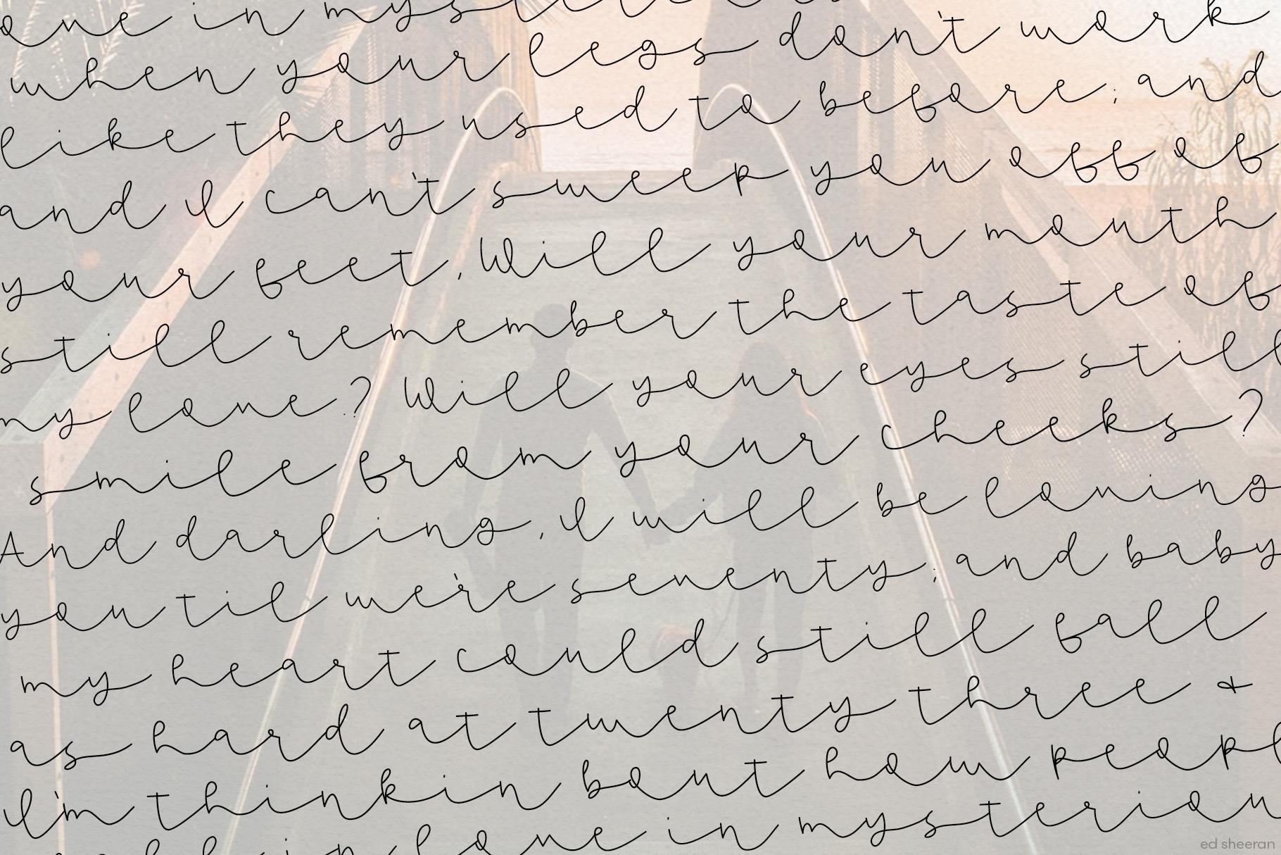 Dandy Dandelions - Handwritten Script & Print Font Duo example image 9