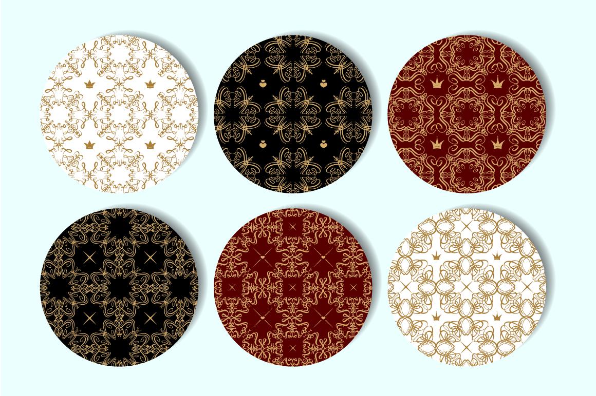 Vintage patterns set example image 2