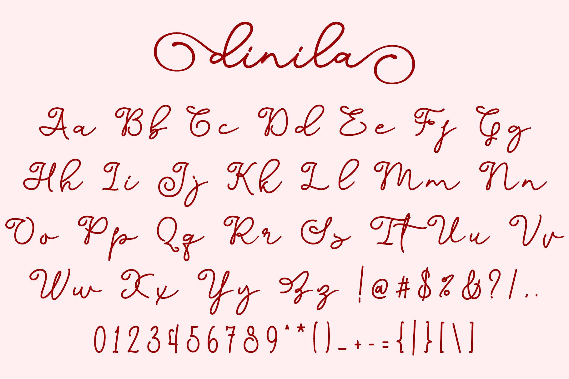 Dinila Script example image 5