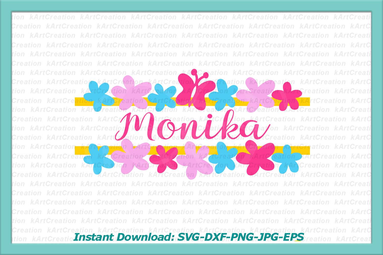 Princess Toddler Monograms bundle SVG DXF cutting files example image 9