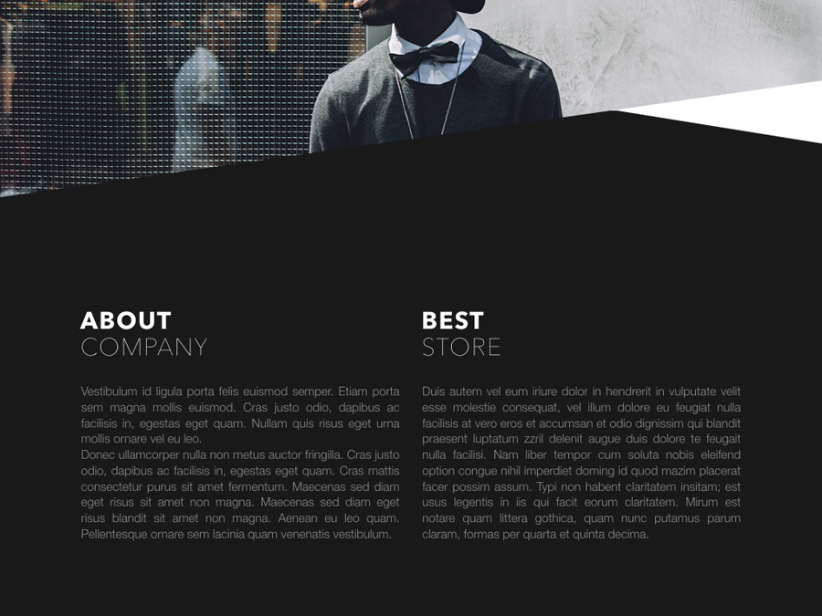 Fashion Edge PowerPoint Template example image 3