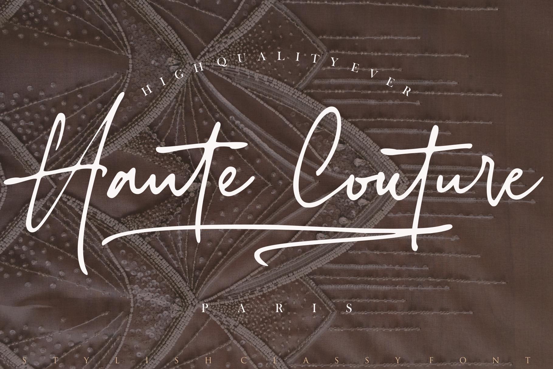 Stylish Classy // 2 Fonts example image 12