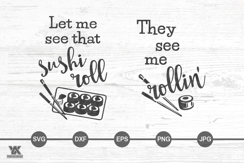 Sushi SVG Bundle example image 2
