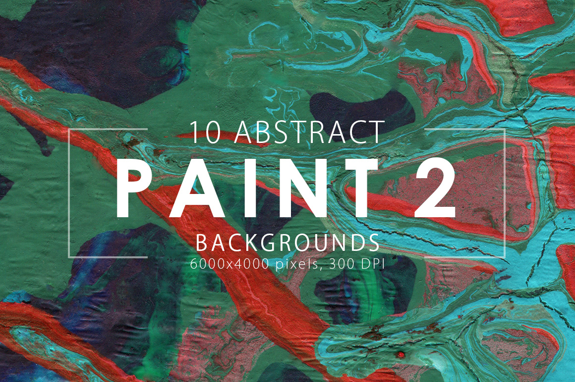 Abstract Paint Backgrounds Vol.2 example image 3