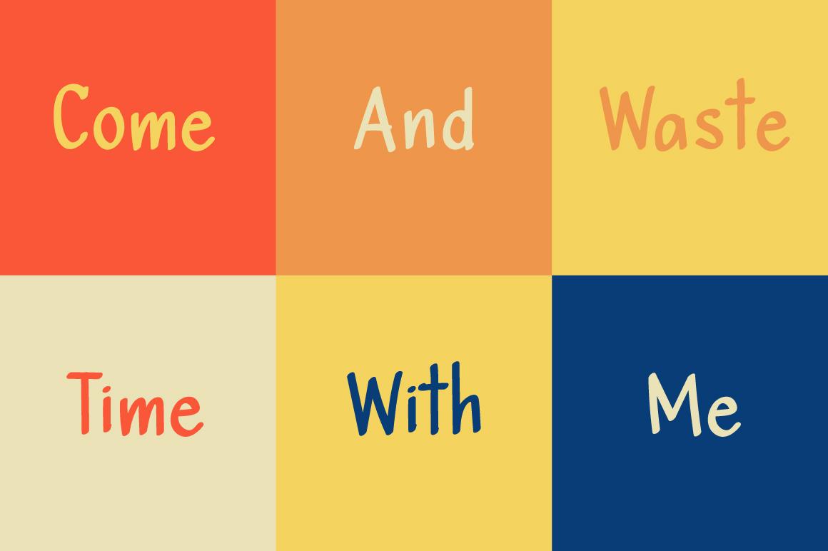 Maple Marker sans serif example image 4
