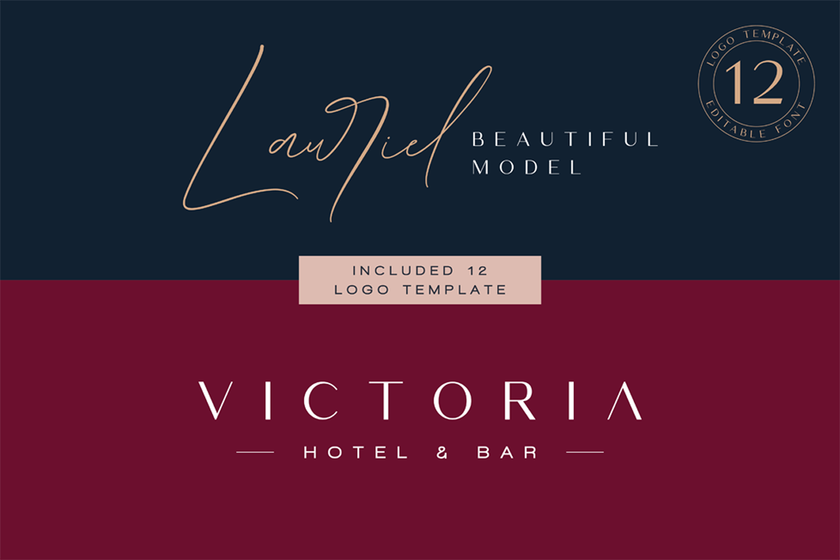 Germany - Luxury Font Duo example image 2