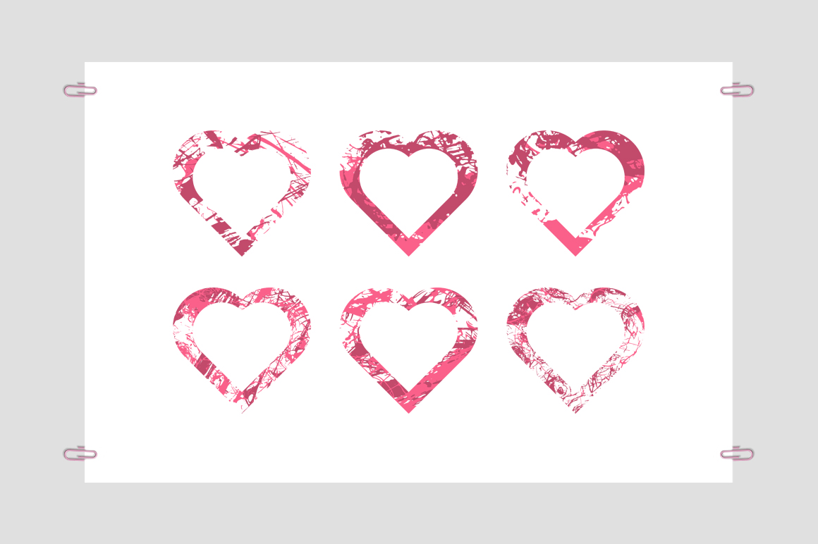 Collection Hearts example image 4