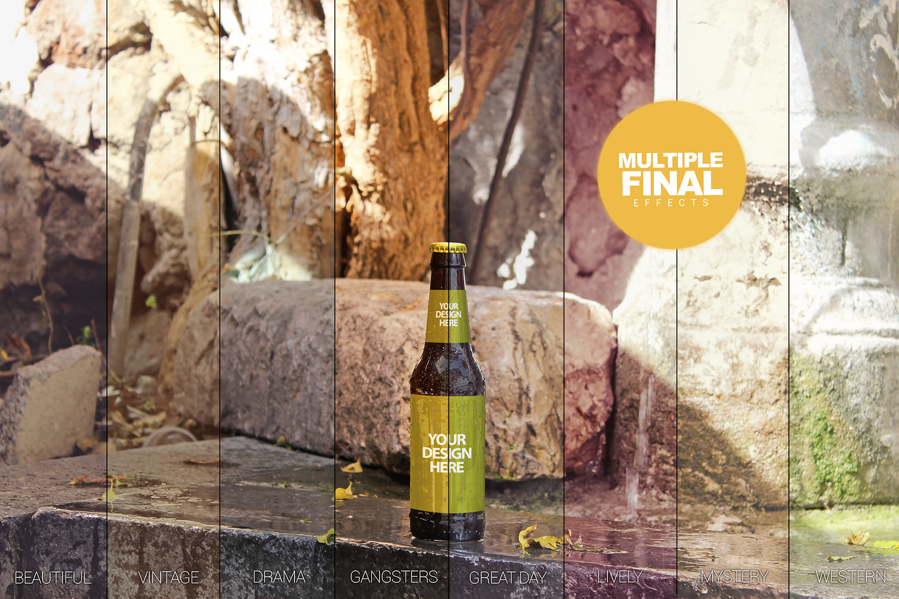 Fountain Beer Mockup example image 4