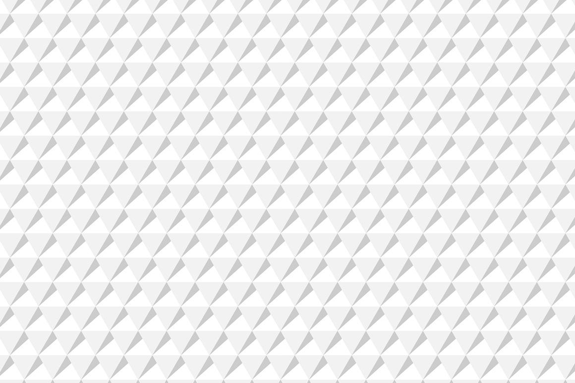 Decorative white seamless textures example image 7