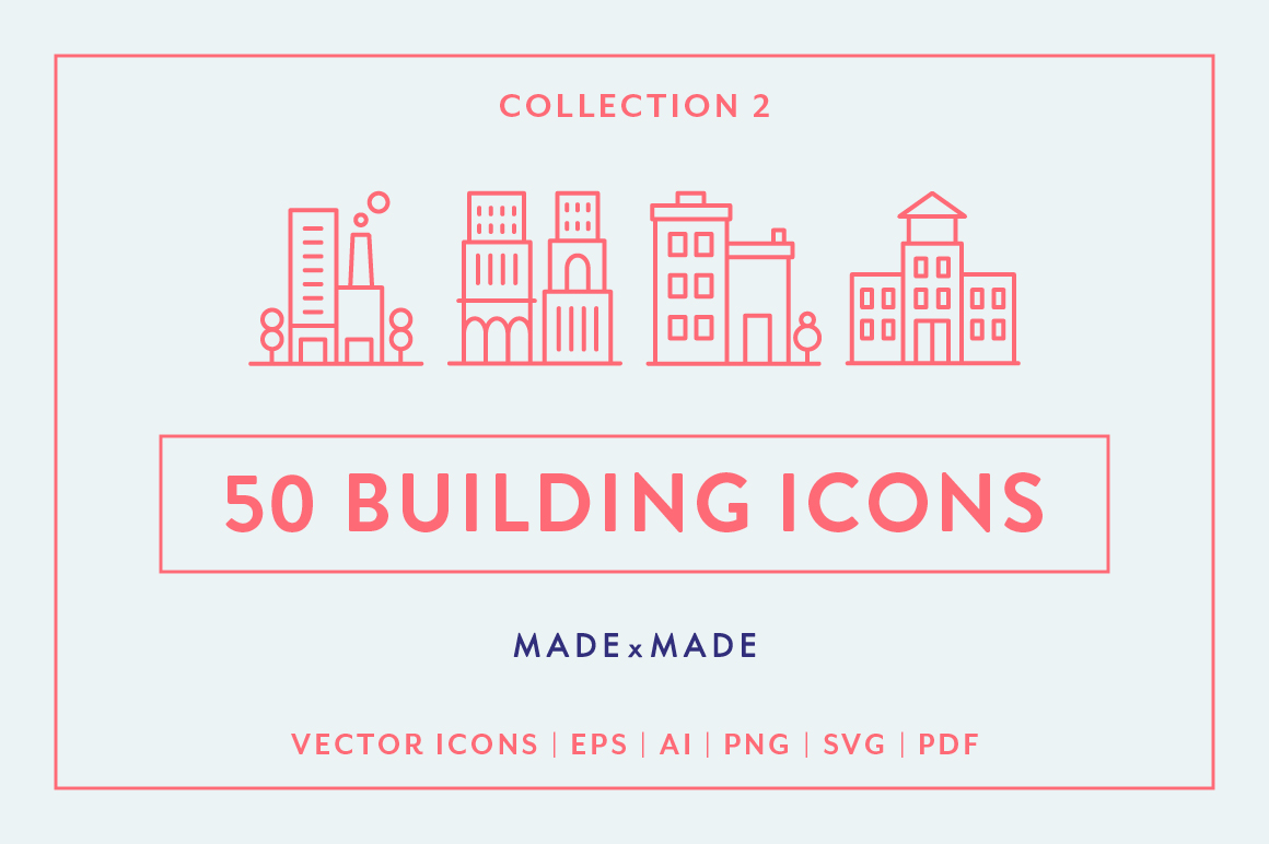 Line Icons - 3 in 1 Collections Bundle example image 3