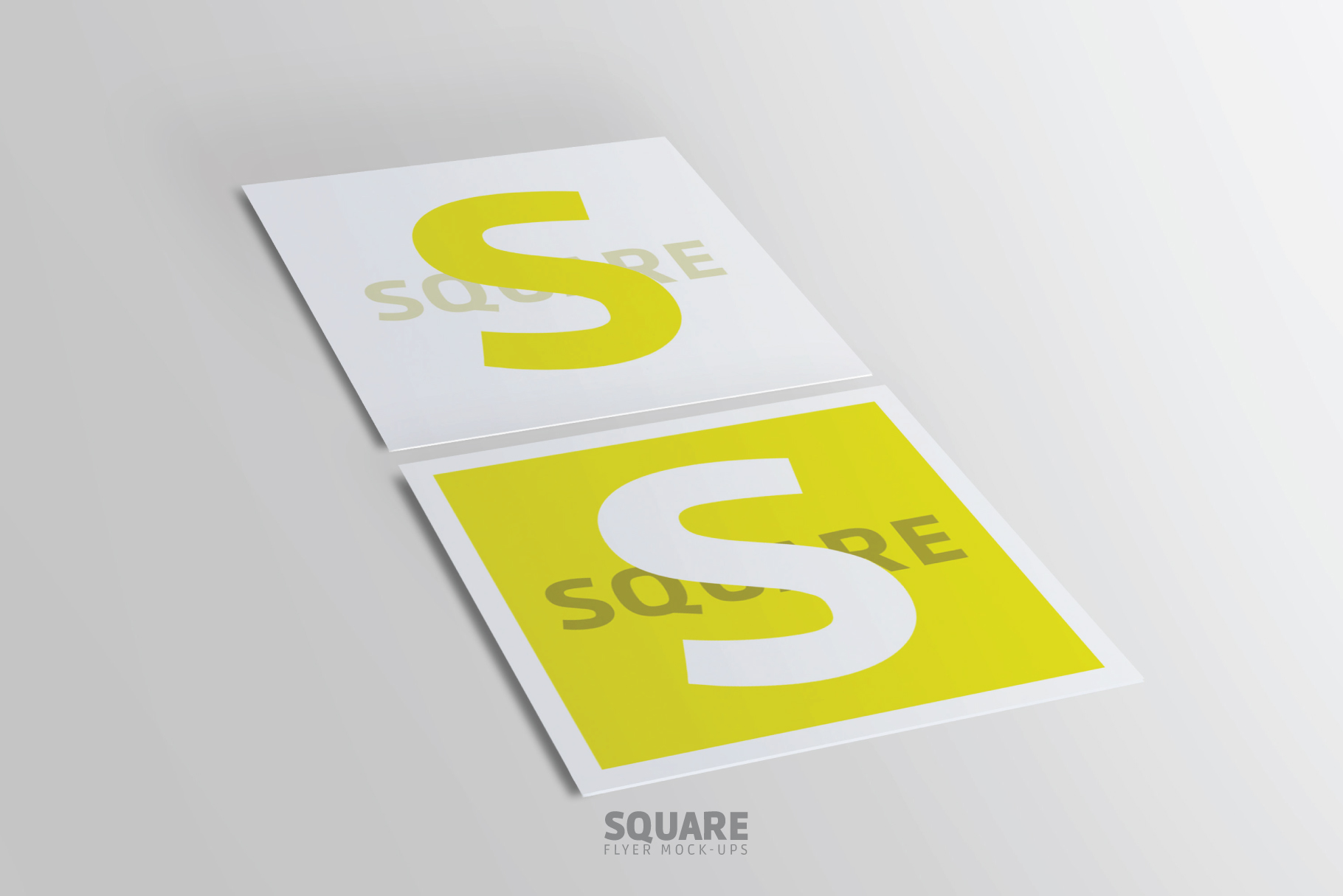 Square Flyer Mock-Up example image 4
