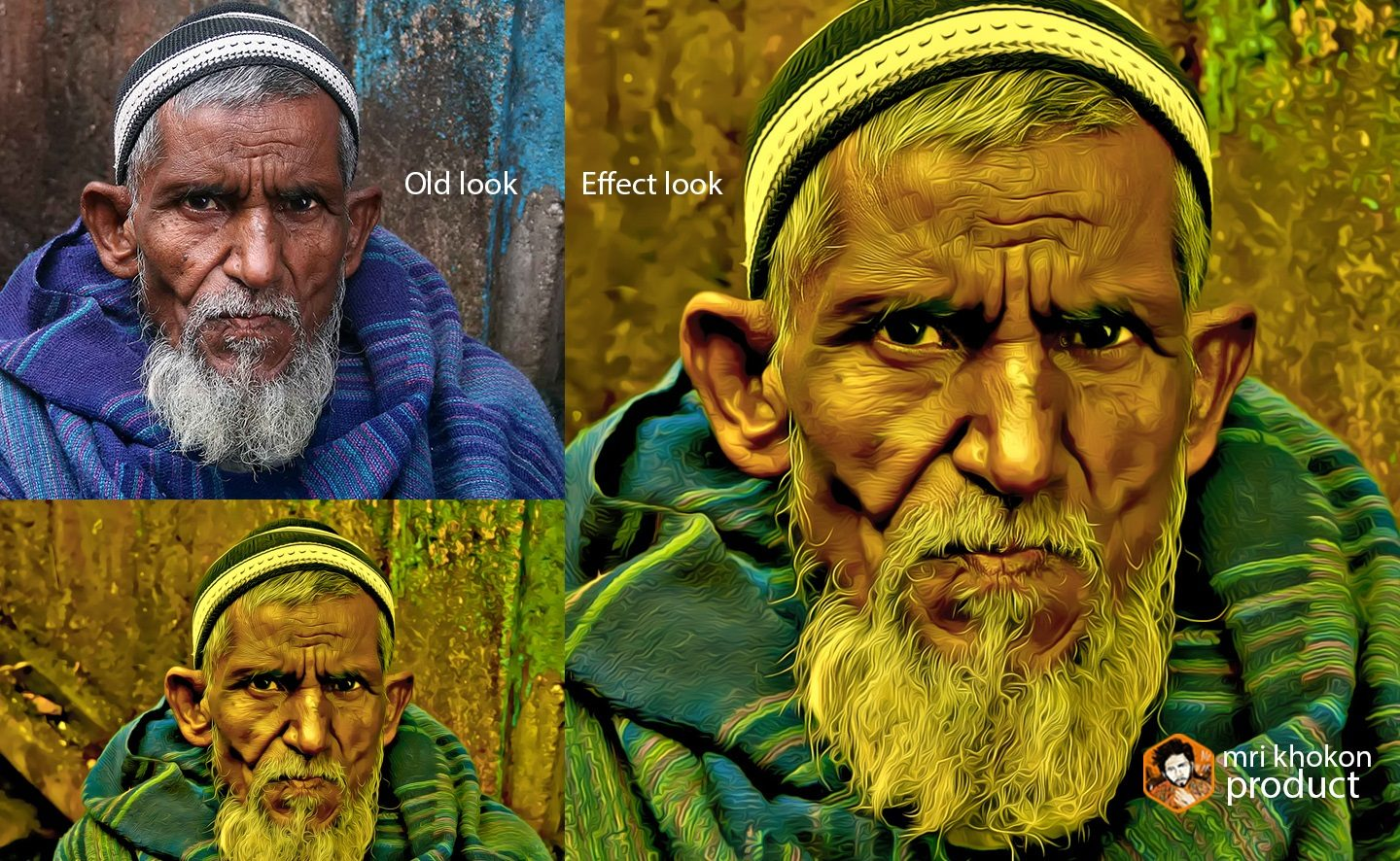 Gold Look Photoshop Effect example image 10
