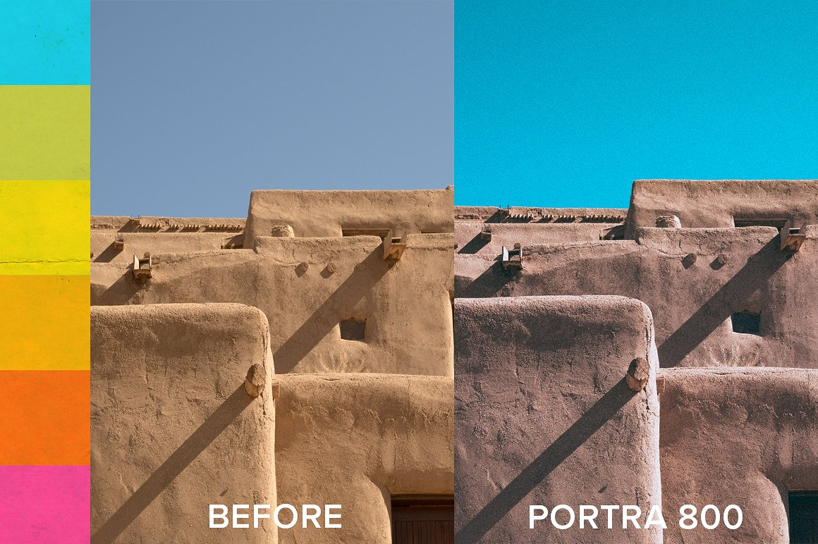 Expired Film Set of Lightroom Presets example image 3